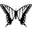 STL file Wall Butterfly , 3dprintlines