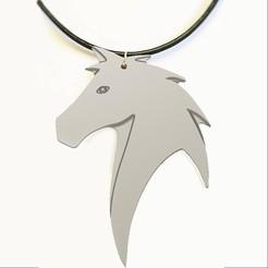 Untitled7copy.jpg Download STL file HORSE HEAD NECK CHAIN  • 3D printer template, 3dprintlines