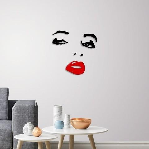 Télécharger fichier 3D Décoration murale du visage de la dame, 3dprintlines