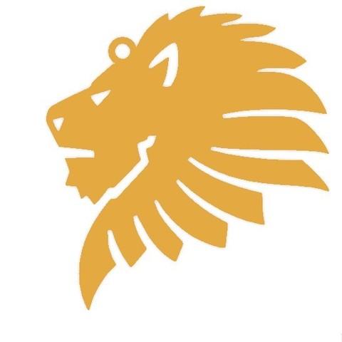 lion head_1.jpg Download free STL file Lion head key chain  • 3D printer object, 3dprintlines