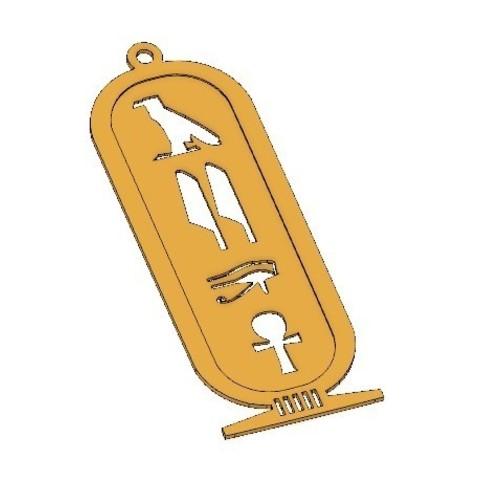 11.jpg Télécharger fichier STL gratuit ANCIEN PORTE-CLÉS ÉGYPTIEN • Objet à imprimer en 3D, 3dprintlines