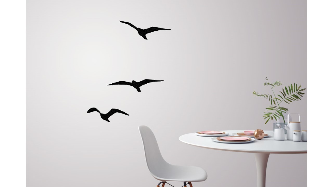 Flying Birds For Wall Decoration