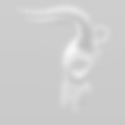 Free 3D print files Cow Skull Pendant, LeviDT