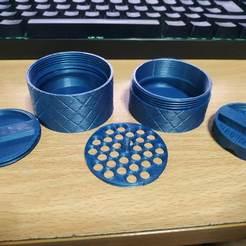 Download 3D printing files Herb Grinder, alealem96