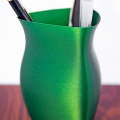 Descargar modelos 3D para imprimir Simple vase triangular 2, alealem96