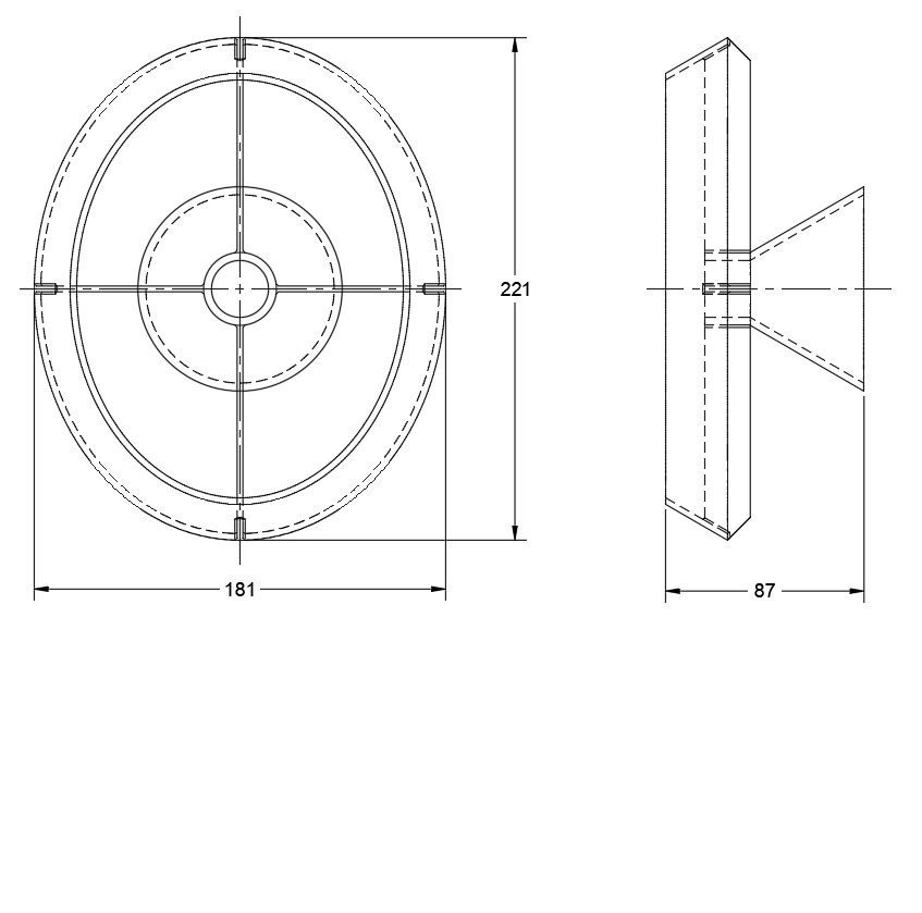 Hat stand main dimensions.JPG Download free STL file Hat stand • 3D print object, Harry_D60