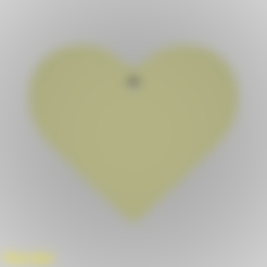 Download free 3D printer model Heart Silhouette Key Chain, GadgetPrint