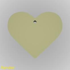Descargar diseños 3D gratis Llavero Corazón Silueta, GadgetPrint