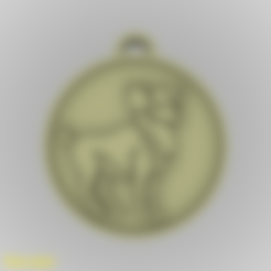 medallion-aries-001.stl Download STL file Aries Zodiac Medallion Pendant • Design to 3D print, GadgetPrint