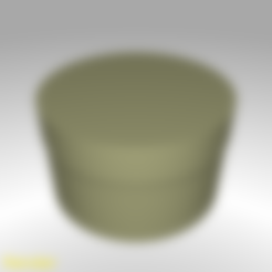 box-round-top-s-001.stl Download free STL file Round Shaped Box - Small • 3D printing template, GadgetPrint