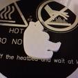 keychain-bear-001-photo-1.png Download free STL file Bear Silhouette Key Chain • 3D printer object, GadgetPrint