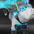 Télécharger modèle 3D Chien Super Hero ! 28mm prêt pour les jeux de table, Enrico_Sartori