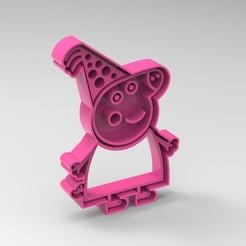 pig1.jpg Download STL file peppa pig familia • 3D printer model, Mooos