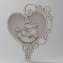 Modelos 3D para imprimir papa ojo panno, engmoos