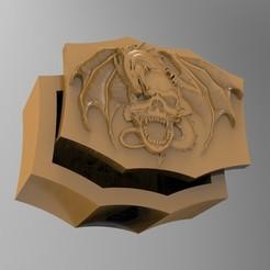 Descargar modelos 3D caja del dragón, Mooos