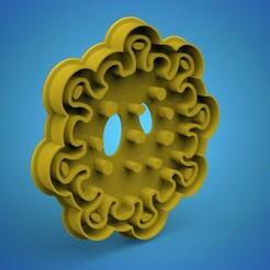 covvvv.661.jpg Download STL file COVID-19 cookie cutter • 3D print design, Mooos