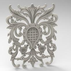 Archivos 3D adorno floral, engmoos