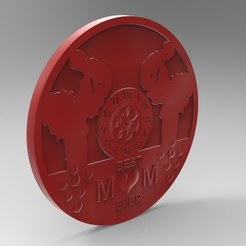Download 3D printer designs mother clock, Mooos