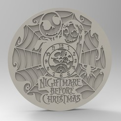 Download STL files nightmare clock, Mooos