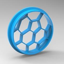 Descargar archivo 3D cortador de galletas en forma de bola, Mooos