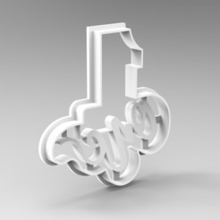 Download 3D model numbers cookie cutters, Mooos