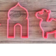 Download 3D print files 10 high quality stencil and cookie cutters pack, Mooos