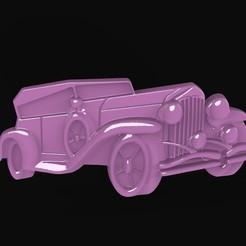 Imprimir en 3D coche de época, Mooos