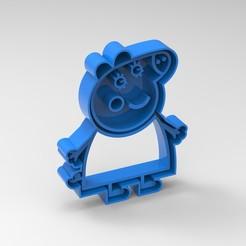 pig3.jpg Download STL file peppa pig familia • 3D printer model, Mooos