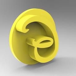 G111.401.jpg Download STL file Alphabet stamp plus fondant cutter for letter G ready for 3D printing • 3D printer template, Mooos