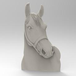 STL file horse, Mooos
