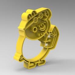 pig4.jpg Download STL file peppa pig familia • 3D printer model, Mooos