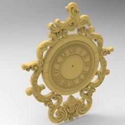 3D printing model clock 3D, Mooos
