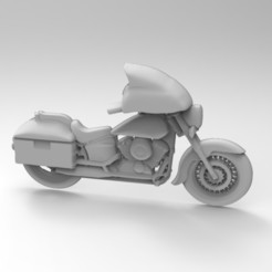 STL file motorcycle, Mooos