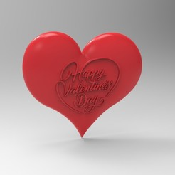 3D printing model valentine heart 1, Mooos
