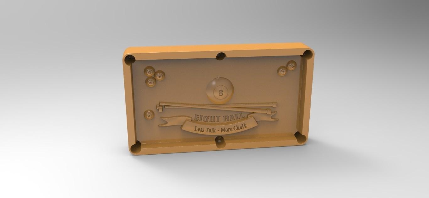 8pool.46.jpg Download STL file 8 ball pool • 3D printable template, Mooos