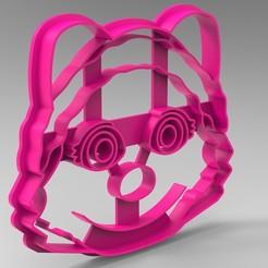 Télécharger modèle 3D patte de patrouille à l'emporte-pièce, Mooos