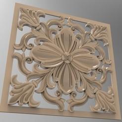 Imprimir en 3D Ornamento 3D, engmoos