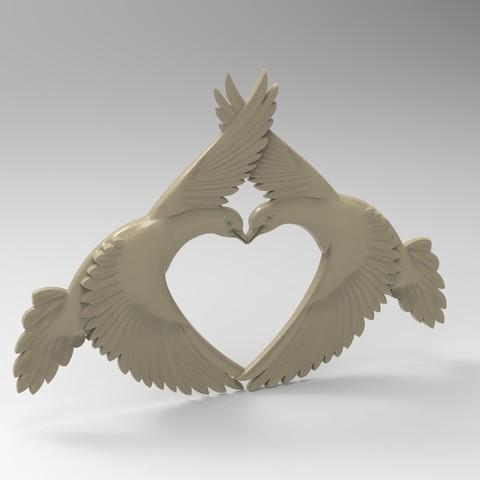 3D printer files pigeon beauty, Mooos