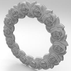 Imprimir en 3D marco rosado, engmoos