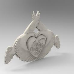 Modelos 3D para imprimir corazón de san valentín, Mooos