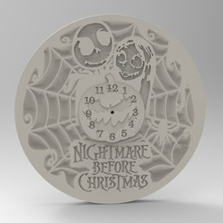 Download 3D printer files christmas clock, Mooos
