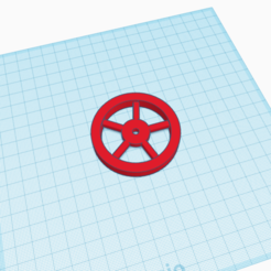 Rueda para servo FS90R.png Download STL file Wheel for servo FS90R • 3D printable model, magosus1807