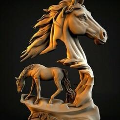 HORSES.jpg Download free STL file HORSES • 3D printable design, alexlopreciado
