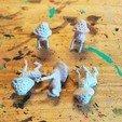 Descargar archivos STL Myconids - 28mm D&D miniaturas, pyrokahd