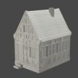 v1.png Télécharger fichier STL maison à charpente médiévale - décoration - table/terrain de jeu • Modèle pour impression 3D, pyrokahd