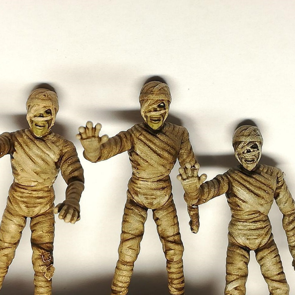 3 (2).jpg Download free STL file Mummy - 28mm D&D miniature • 3D printable object, pyrokahd