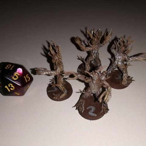 Modelos 3D para imprimir gratis Twig Blight - 28mm D&D miniatura, pyrokahd