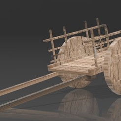 Descargar modelo 3D Carro de ruedas Gorean, Eternel06
