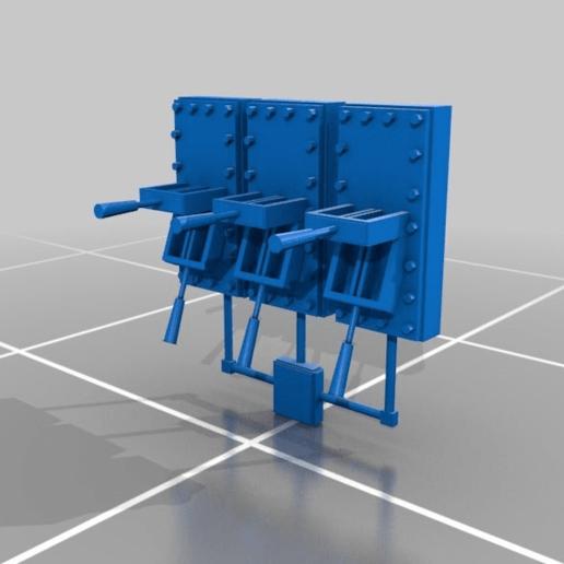 Download free STL file Metal Levers • 3D printer object, Eternel06