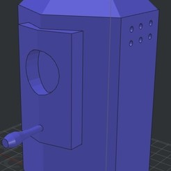 Download free 3D printer designs Birdhouse, Eternel06